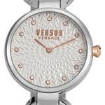 Versus Peki Road Silver Rose Gold Analog Watch - V WVSP751018