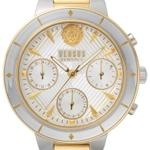 Versus Harbour Heights Silver Gold Links Analog Watch - V WVSP880618