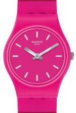 Swatch Flexipink Pink Silicone Stainless Steel Strap Analog Watch - LP149B