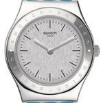 Swatch Brisebleue Blue Silicone Strap Analog Watch - YLS203
