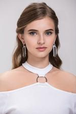 OwnTheLooks Diamond Knot Dangling Earrings