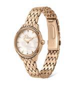 Police Montavilla Rose Gold Patterned Bracelet Strap Analog Watch (P 16042LSR-28M)