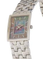 Christina Design London Swiss Silver Stainless Steel Watch for Women,Mother of Pearl Dial 2 Diamond-118 SBL