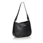 Burberry Black Leather Shoulder Bag (9CBUSH047)
