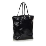 Gucci Black Coated Canvas Tote Bag (9CGUTO060)