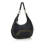 Fendi Black Leather Chef Hobo Bag (9EFNHO001)