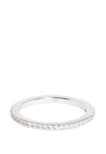 APM Monaco 925 Silver  Zirconia Ring (A15341OX-44)