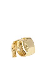 APM Monaco 925 Silver Gold-Plated Zirconia Ring (A15988OXY-54)