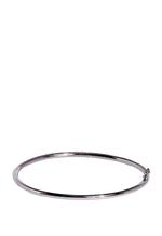 APM Monaco 925 Silver and Red Zirconia Bangle (AB3062KRR-M)