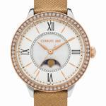 Cerruti 1881 ROSARA Bronze Leather Strap Analog Watch - C CRWM22508
