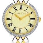 Cerruti 1881 VALLARSA Dual Toned Bracelet Strap Analog Watch - C CRWM23302