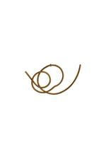 Gunina Gold Drop Earrings (GE1271)