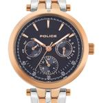 Police Sesma Silver Tone Rose Gold Links Analog Watch -  P 15890BYR-03MTR