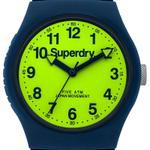 Superdry URBAN  Blue Rubber Strap Analog Watch - T SDWSYG164UN