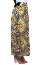Miella Multicolored Aztec Printed Skirt  (SK220-AZT)