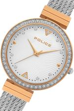 Police Yakima Silver Rose Gold Tone Analog Watch -P 15575BSTR-04M