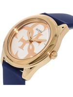 Guess Iconic Blue Silicone Strap Analog Watch - U0911L6