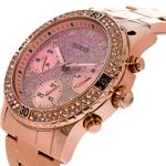 Guess Confetti Rose Gold Stainless Steel Analog Watch - U0774L3