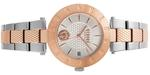 Versus Logo New Two Tone Silver Rose Gold Links Analog Watch - V WVSP773518
