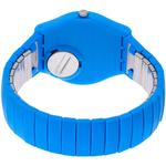 Swatch Pepeblu Blue Silicone Stainless Steel Analog Watch - GN251A