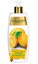 Vaadi Herbals Dandruff Defense Lemon Shampoo With Extract Of Tea Tree - 350 ml
