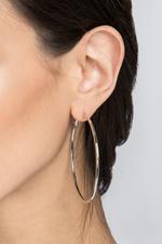 OwnTheLooks Silver Hoop Earrings