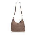 Gucci Brown Leather New Jackie Shoulder Bag (9BGUSH033)