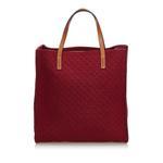 Gucci Red Diamante Felt Tote Bag (9DGUTO065)