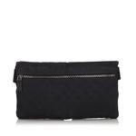 Gucci Black GG Canvas Belt Bag (9JGUBB001)