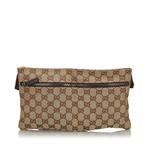 Gucci Brown GG Canvas Belt Bag (9JGUBB006)