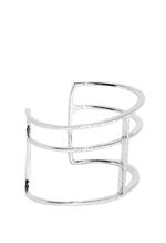 APM Monaco 925 Silver Zirconia Cuff Bracelet (AB2161OX-M)