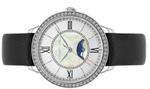 Cerruti 1881 ROSARA Black Leather Strap Analog Watch - C CRWM22505