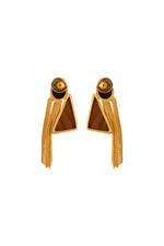 Gunina Gold Drop Earrings (GE1253)