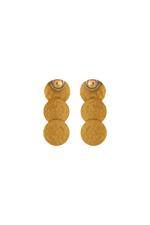 Gunina Gold Drop Earrings (GE1293)