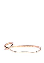 APM Monaco Rose Gold-Plated 925 Silver Zirconia Palmlet (RB3009OX-M)