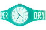 Superdry URBAN FESTIVAL GLOW  Green Silicone Strap Analog Watch - T SDWSYL224N