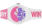 Superdry URBAN SKI  White & Pink Silicone Strap Analog Watch - T SDWSYL255WP
