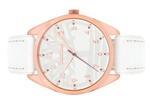 Timberland Pingree White Leather Strap Analog Watch - T TBL15959MYR-01