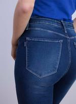 Tiffosi Blue One Size High Skinny Fit Jeans (TFS004)