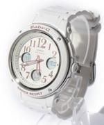 Casio  Baby G White Rubber Strap Sport  Analog  Digital  Watch -BGA150EF-7B