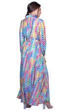 Miella Multicolored Amaya Chain Print Dress (DR008-Multi)