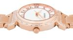 Guess Crystal South Hampton Rose Gold Stainless Steel Analog Watch - W0831L2
