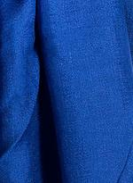 Ezma Blue Stark Pure Cashmere Scarf