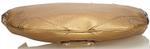 Gucci Gold Metallic Leather Horsebit Crossbody Bag (8LGUCX014)