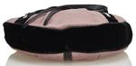 Saint Laurent Pink & Black Fabric Hobo Bag (8LYSSH007)