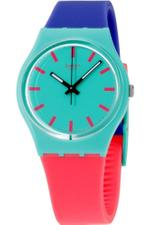 Swatch Women's Originals GG215 Multi Silicone Swiss Quartz Fashion Watch