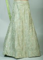 Pankhudii Green Embroidered Semi-Stitched Lehenga Set (76026)