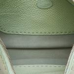 Fendi Light Green Leather Selleria Hobo Bag (8LFNHO006)