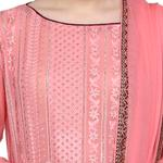 Pankhudii Pink and Maroon Sharara with  Suit Set (RAAS60)