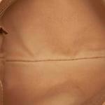 Gucci Beige Leather Chain Baguette (9CGUBG001)